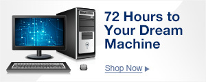 72 Hours to Your Dream Machine