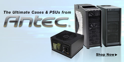 The Ultimate Cases & PSUs from Antec