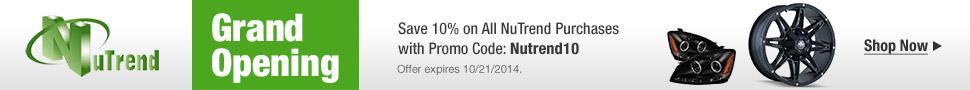 NuTrend Save 10%