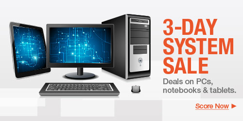 3-Day System Sale