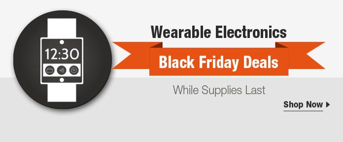 Wearable Electronics Black Friday Sale