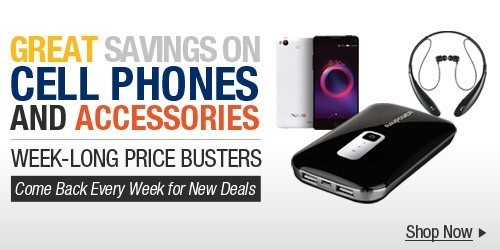 Great Savings on Cell Phones and Accessories