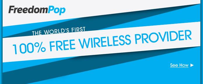 100% Free Wireless Provider