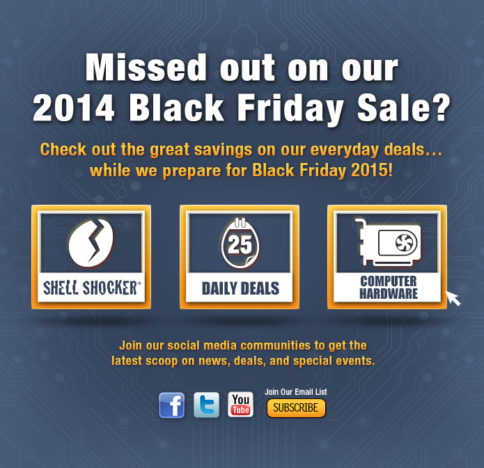 Black Friday 2014 Deals & Sales