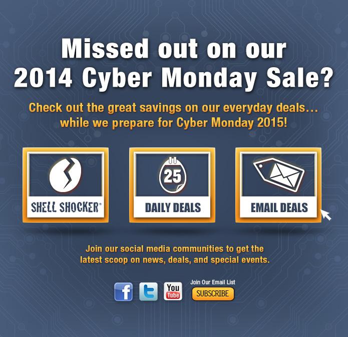 Cyber Monday 2014 Deals & Sales
