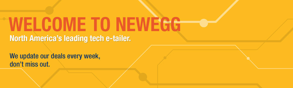 Welcome to Newegg