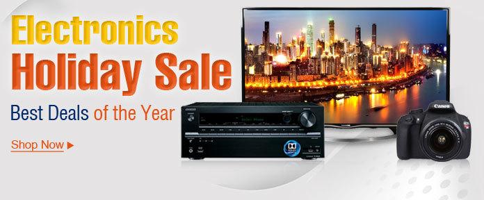 Electronics Holiday Sale