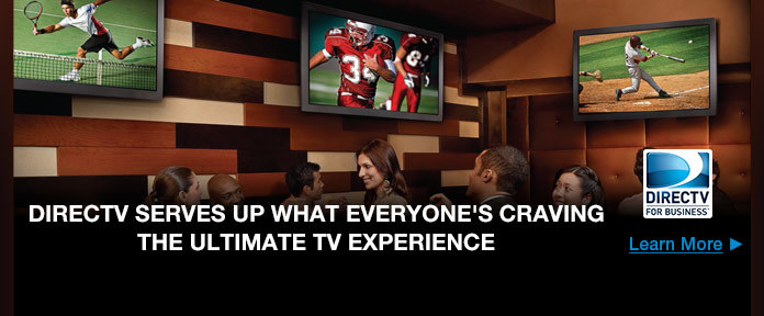 DIRECTV Serves Up What Everyone's Craving