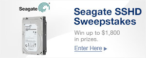 Seagate SSHD Sweepstakes