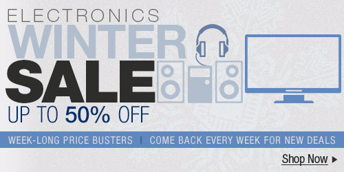 Electronics Winter  Sale up to 50% off