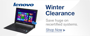Winter Clearance on Recertified Systems