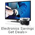 Electronics savings