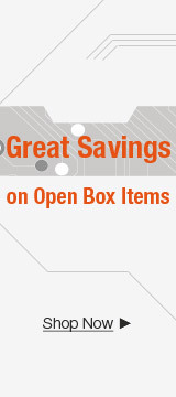 Great savings on open box items