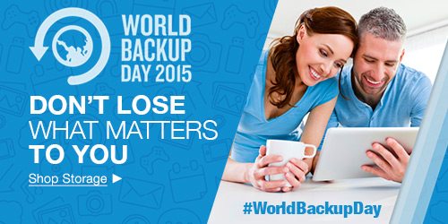 World Backup Day March 2015