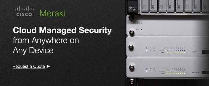 Cloud managed security from anywhere on any device