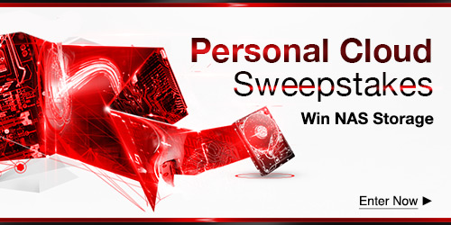 You Personal Cloud Sweepstakes