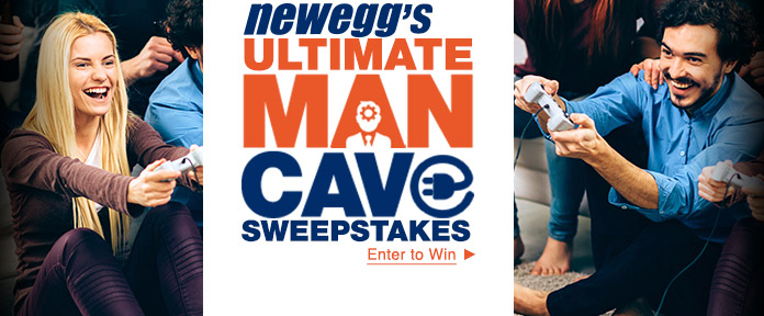Ultimate Man Cave Sweepstakes