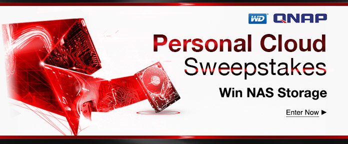 You Personal Cloud Sweepstakes: