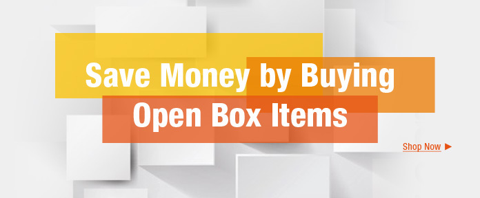 SAVE MONEY by Buying Open Box Items