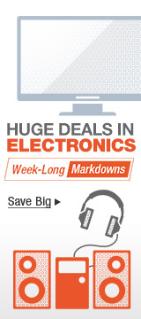 Huge deals in electronics save big