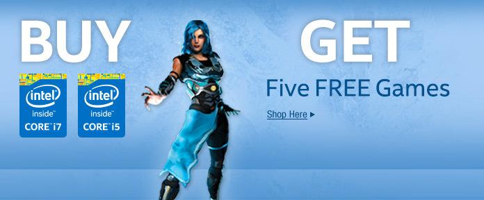 Get five free games