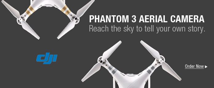 Phantom 3 aerial camera