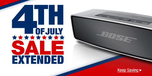 4TH OF JULY SALE EXTENDED