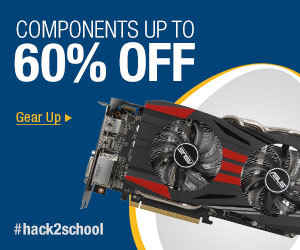 COMPONENTS UP TO 60% OFF