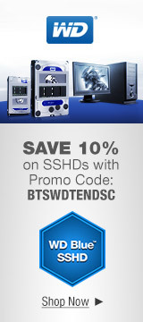 SAVE 10% on SSHDs with Promo Code