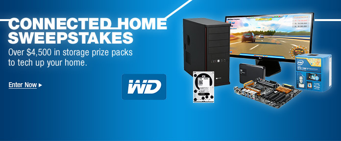Connected Home Sweepstakes