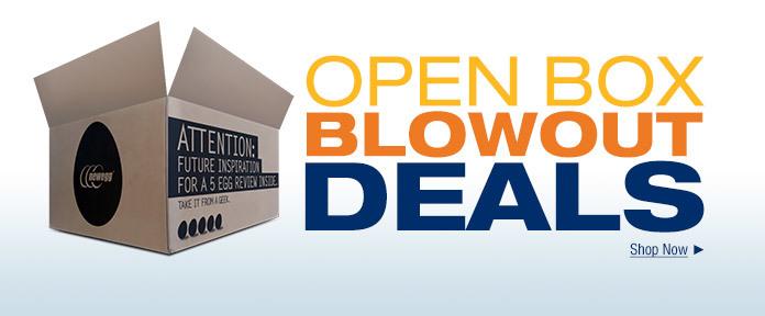Open Box Blowout Deals