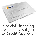 Special Financing Available, Subject to Approval