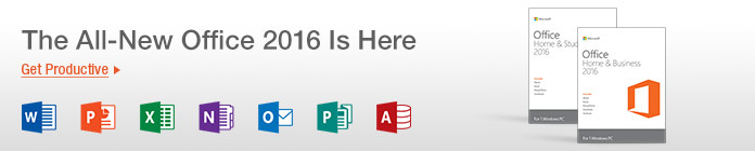 The All-New Office 2016 Is Here