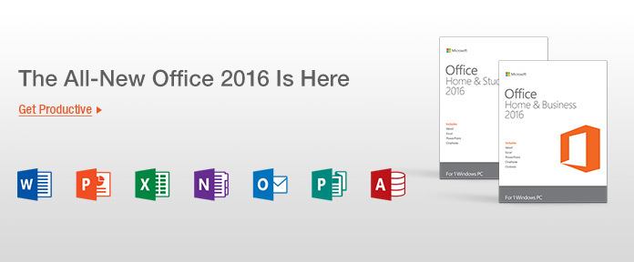 Microsoft Office 2016 Is Here