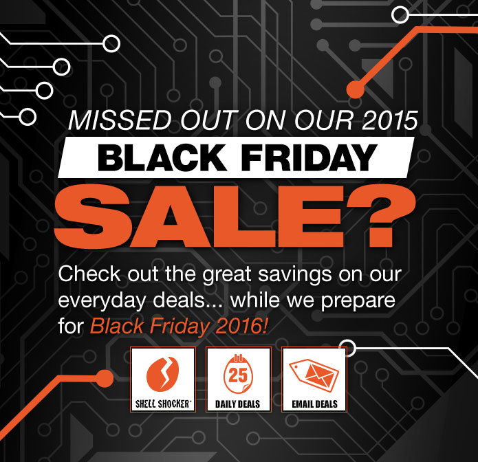Black Friday 2015 Deals & Sales