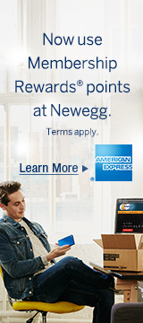 Now use membership Reward points at Newegg