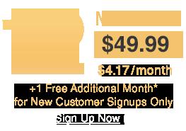 3 months $49.99 - $4.17/Month
