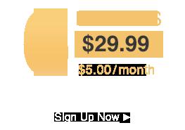 6 months $29.99 - $5.00/Month