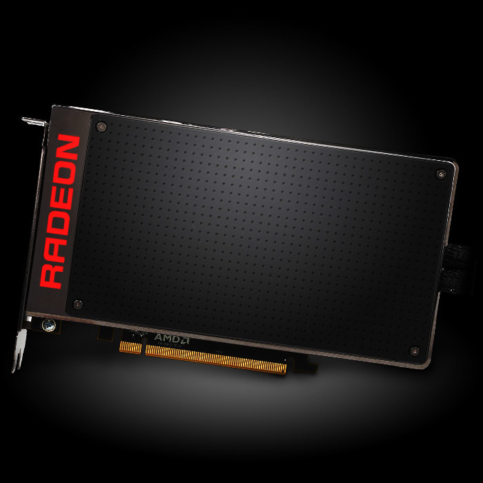 featured AMD graphics card