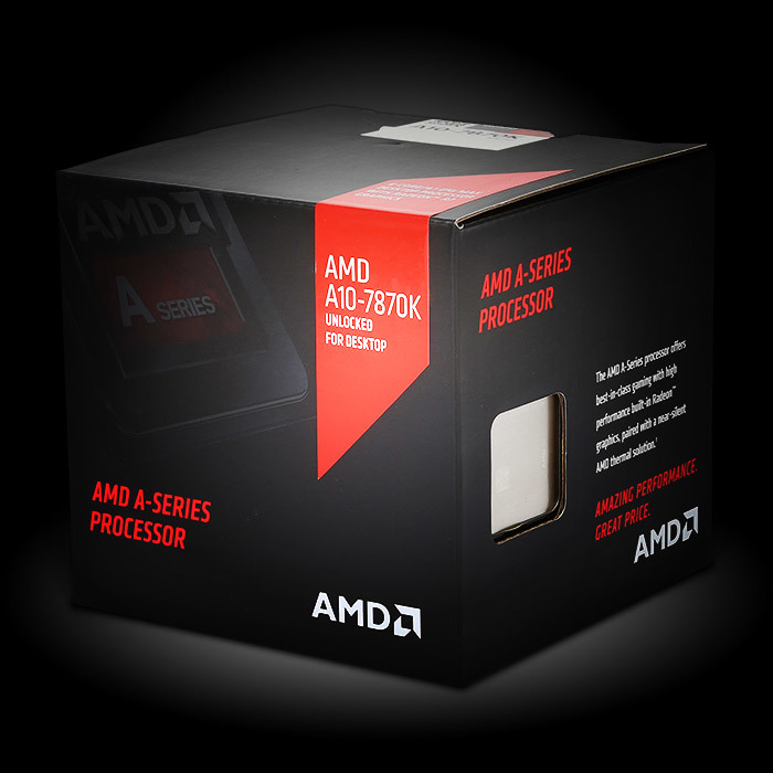 featured AMD A-series processor