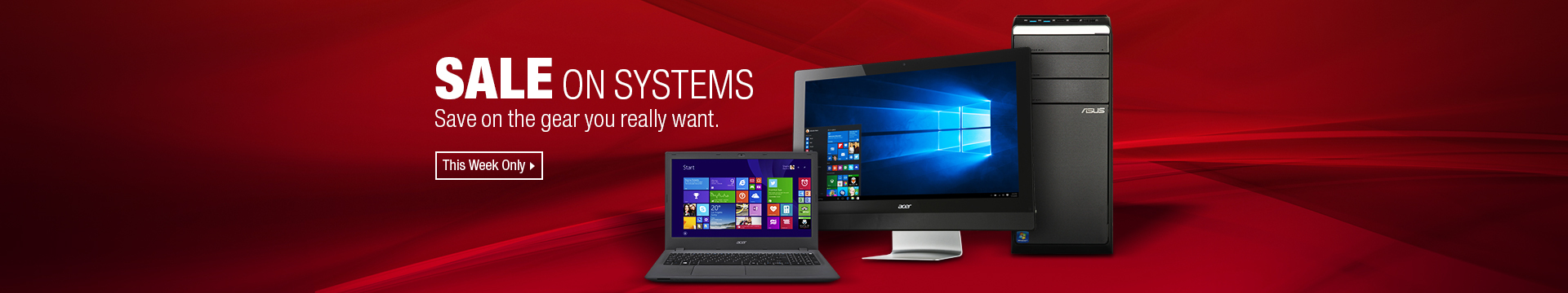 SALE ON SYSTEMS
