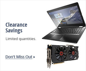 Clearance Savings - Limited Quantities
