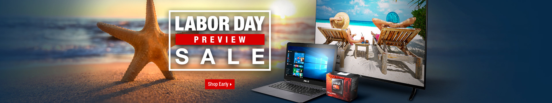 Labor Day Preview Sale