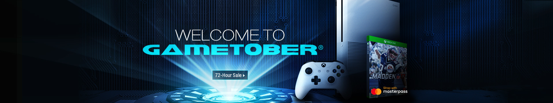 Welcome to Gametober