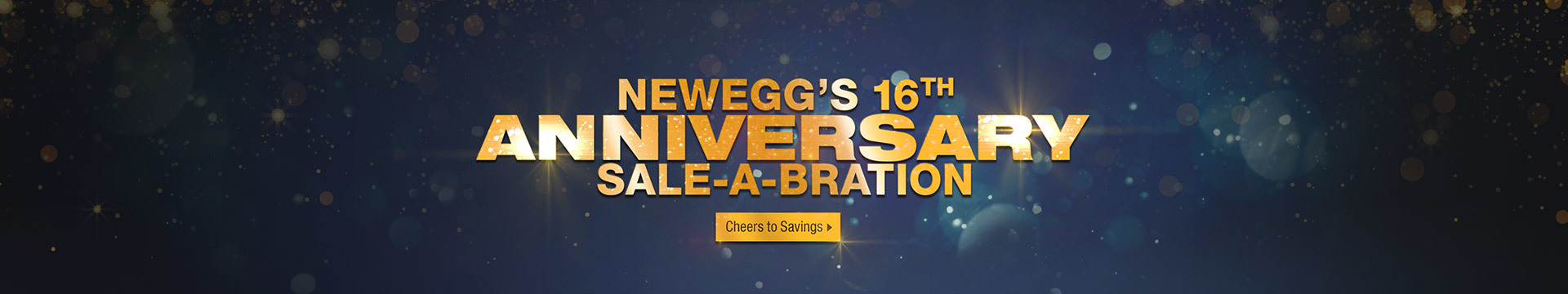 16th Anniversary Sale-A-Bration