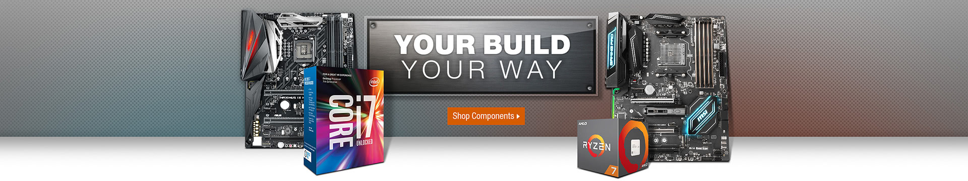 Your Build, Your Way