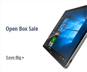 Open box sale