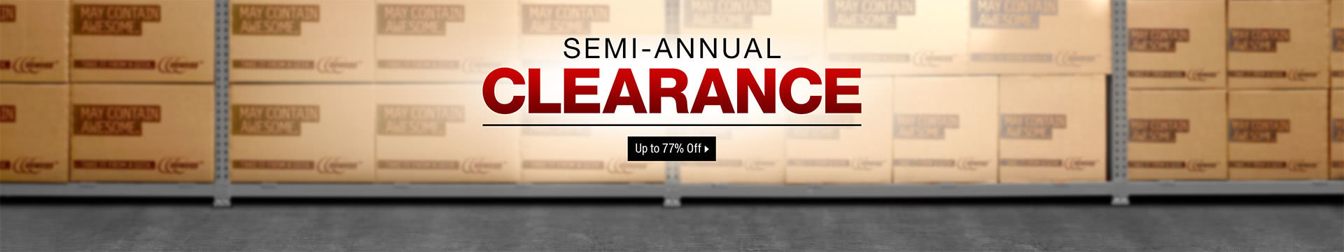 Semi-Annual Clearance