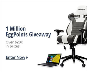 2nd Annual Million EggPoints Giveaway Sweepstakes