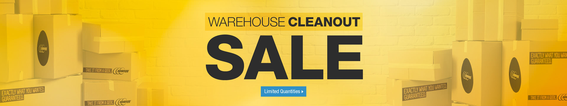 Warehouse Cleanout Sale
